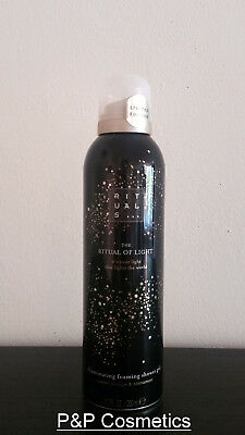 Rituals The Ritual of Light Shower Foam 200ML 6,7FL Limited Edition Winter 2016
