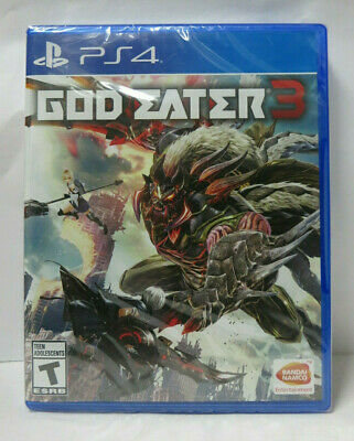 God Eater 3 (Sony PlayStation 4, 2019) Brand New Factory Sealed