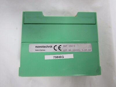 Novotechnik MUP150-5 054051 S.NR.A6 SIGNAL Conditionneur Position Dimensions