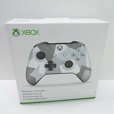 Microsoft Xbox One S Wireless Bluetooth Controller Winter Forces ED. [WL3-00043]