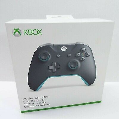 Microsoft Xbox One S Wireless Bluetooth Controller WL3-00105 GREY/BLUE (R2800)