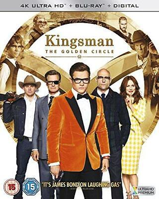 Kingsman: The Golden Circle [4K UHD +  Blu-ray + Digital HD] [2017], Good DVD, H