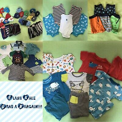 Boys Bundle Of Summer Clothes Age 1 1/2-3 Years Old & 6-7 Years Old