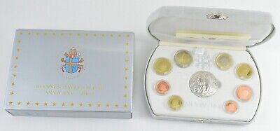 2003 Vatican City Pope Giovanni Paolo II 8 Coin Box Set/Medal,Box,Paper OGP *059
