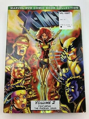 New X-Men: Volume 2 Marvel DVD Comic Book Collection Sealed w/Cover Sleeve