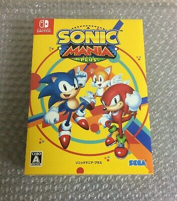 NEW Nintendo Switch SONIC MANIA PLUS Limited Edition JAPAN import Japanese game