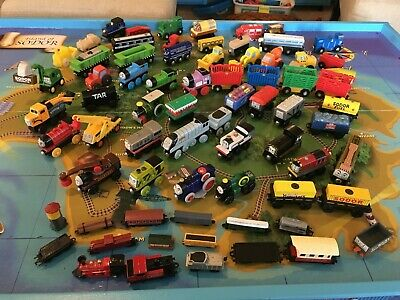 Thomas Friends Wooden Railway Gold Car And Gold Sifting Car Train