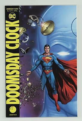 Doomsday Clock (DC) 1B 2018 Frank Superman Variant NM 9.4