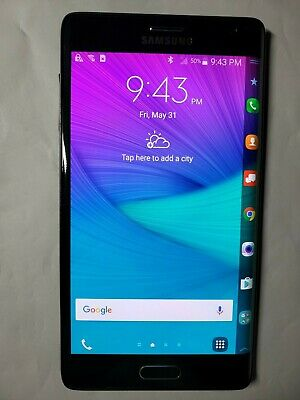 Samsung Galaxy Note Edge SM-N915V - 32GB - Charcoal Black (Verizon) Smartphone