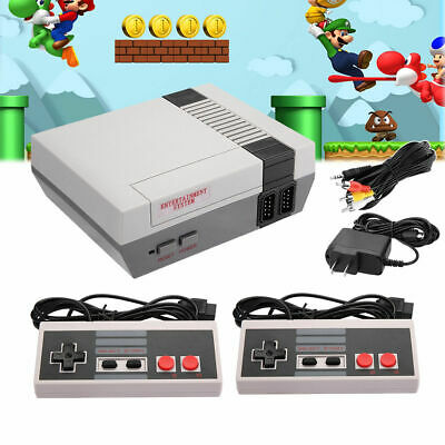 US Mini Retro TV Video Handheld Game Console Built-in Classic 620 Games for NES