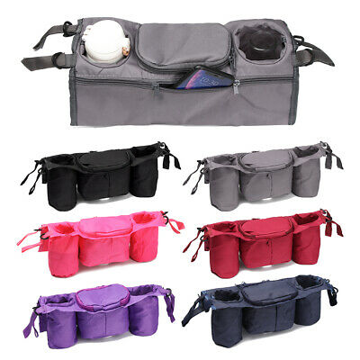 Universal Pouch Pushchair Stroller Organizer Cup Bag Holder Trolley Accessories