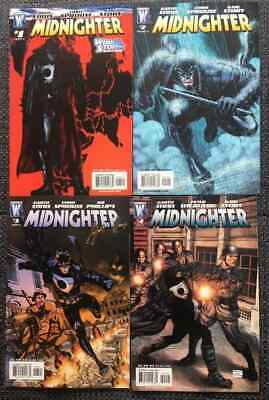Midnighter Vol I #1-4 Variant Covers (DC Wildstorm 2007) NM