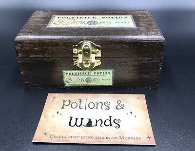 Three Styles Of Potion Suitcases Miniatures. Inspired By Harry Potter.