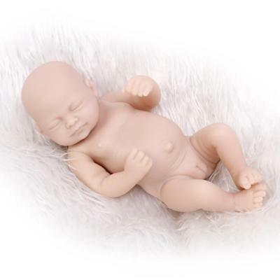 11'' Vinyl Reborn Baby Silicone Doll Kit Full Limb Anatomically Correct Girl New