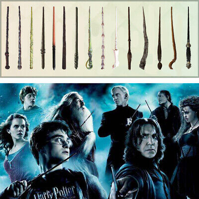 Harry Potter Hermione Voldermont Luna 14''Magical Wand Toy Kids Gift New In Box