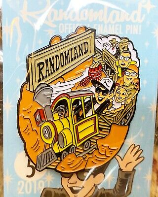 Randomland WILD WEST Train Pin #5!