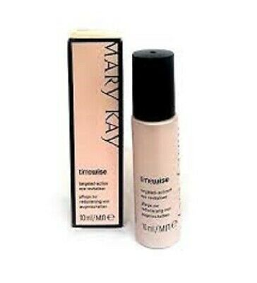 Mary Kay Timewise TARGETED ACTION EYE REVITALIZER .34 oz NEW in Box Black Pink