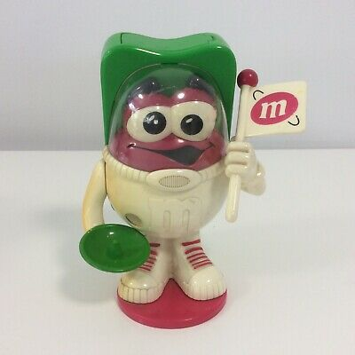 M&M's Astronaut Chocolate Candy Dispenser - Very Good Condition