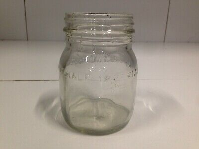 Rare Half Imperial Pint Clean Skin Oil Bottle - Awesome Condition 1930's/40's