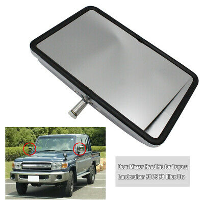 Car Door Mirror Head Fit for Toyota Landcruiser 70 75 78 Hilux Ute O4L6