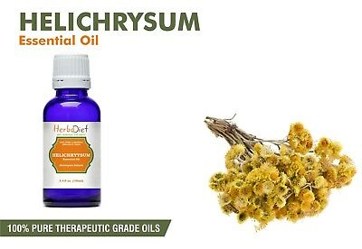 Helichrysum Essential Oil 100% Pure Natural Aromatherapy Therapeutic Grade Oils