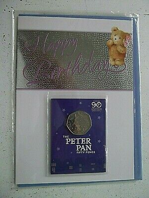New IOM Peter Pan 50p to support Great Ormond Street Hospital on Birthday Card.1