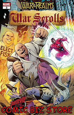 War Of The Realms War Scrolls #3 (Of 3) (2019) 1St Printing Marvel ($4.99)