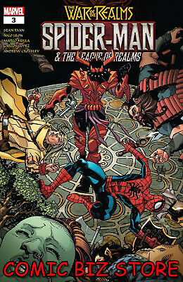 War Of The Realms Spider-Man & League Of Realms #3 (Of 3) (2019) Main Cover