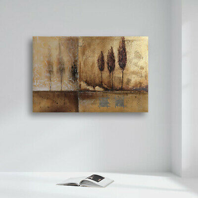 Ready to Hang Wall Hand Painted Modern Abstract Oil Painting On Canvas Framed