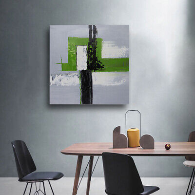 Original Hand Painted Modern Oil Painting Stretched On Canvas Wall Art Decor