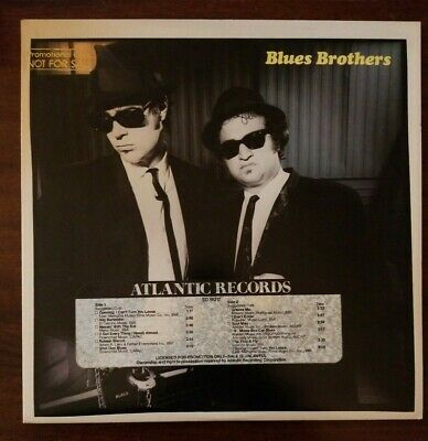 promo 1st pressing BLUES BROTHERS - BRIEFCASE OF BLUES cover+vinyl VG+