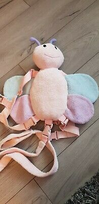Goldbug pink Butterfly Harness Buddy -  safety parent Reins Backpack Animal