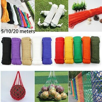 Outdoor Tool Paracord 550 Rope Parachute Cord Survival kit Lanyard Tent Ropes