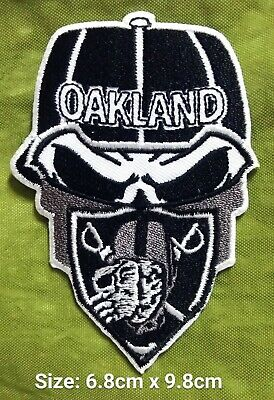 Oakland Raiders New Football Sport Logo iron,sewing,Patch,decorate on