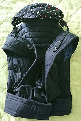 Palm And Pond Hooded mei Tai Baby Carrier. Front And Back. New.