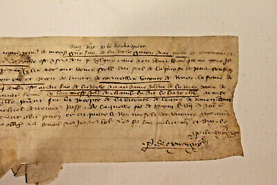 1390 august 17 14th-century French medieval manuscript Burgundy lord Parchment