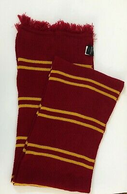 The Wizarding World of Harry Potter Universal Gryffindor House Striped Scarf