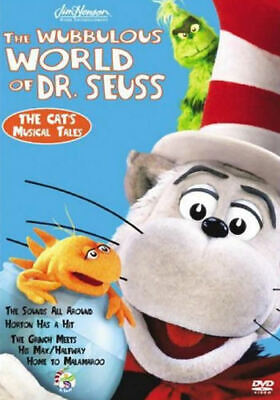 The Wubbulous World of Dr. Seuss - The Cat's Musical Tales (DVD, 20  - Disc Only