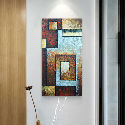 *Abstract* Framed Pure Hand Painted Oil Painting On Canvas Wall Art Home Decor
