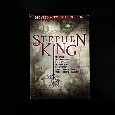 Stephen King TV and Film Collection (DVD, 2018)
