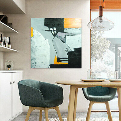Contemporary Abstract Hand Draw Art Canvas Oil Painting Home Decor - Framed