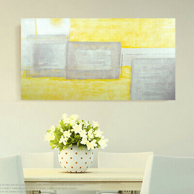 Modern Abstract Hand Painted Canvas Oil Painting Home Decor Art Wall Framed