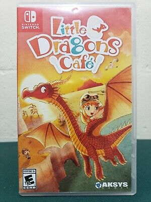 FAST FREE SHIP: Little Dragons Cafe (Nintendo Switch, 2018) Guaranteed2play