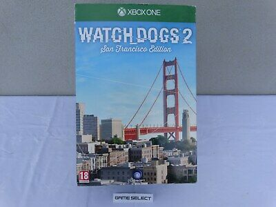 Watch Dogs 2 San Francisco Edition Limited Collector's Xbox One Pal Ita Nuovo