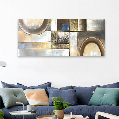 Framed Modern Abstract Hand Painted Canvas Oil Painting Wall Art Home Decor
