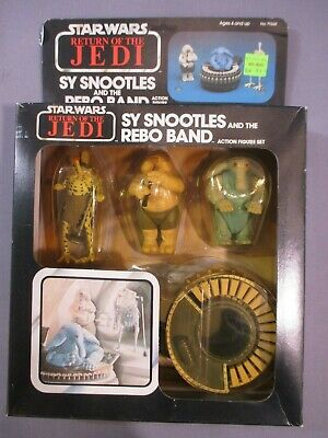STAR WARS Vintage SY SNOOTLES & The MAX REBO BAND Complete Return of the Jedi