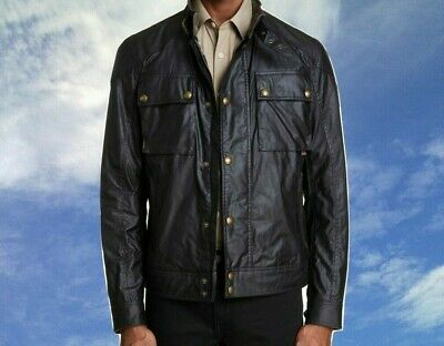 7bf3917384 New 2019 Belstaff Racemaster Water Resistant Waxed Cotton Jacket 42US Or  38US