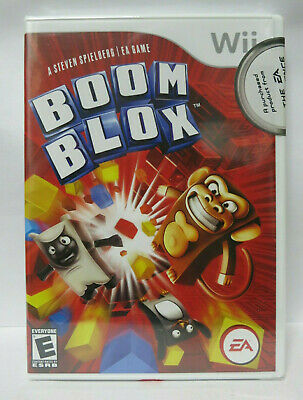 Boom Blox Nintendo Wii Brand New Factory Sealed