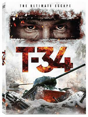 T-34 (Dvd, 2019) Disc Only; No Case, Art Work Or Digital Copy - Attention!!