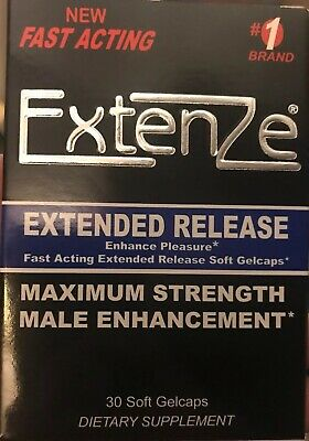 ExtenZe Extended Release - Max Strength Male Enhancement 30ct - Exp 11/2020+